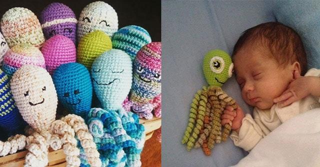 Inktvisjes Haken Voor Babys