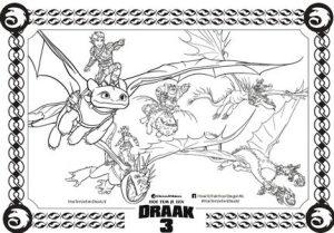 Kleurplaten Draken Rijders Van Berk.Kleurplaat Htjed Hoe Tem Je Een Draak Alles Over Kinderen