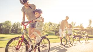 kind op de fiets
